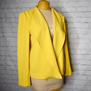 NY&C Plus Size XXL Mustard Blazer 💛💛